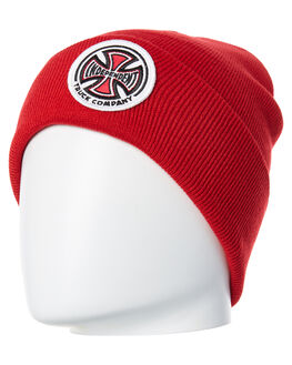 RED MENS ACCESSORIES INDEPENDENT HEADWEAR - IN-MHA8192RED