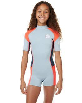 LIGHT BLUE SURF WETSUITS RIP CURL SPRINGSUITS - WSP6BJ1080