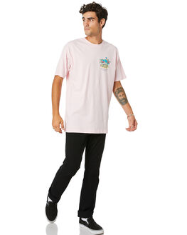 PINK MENS CLOTHING THE LOBSTER SHANTY TEES - LBSSANCTTPINK