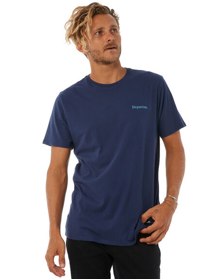 NAVY OUTLET MENS DEPACTUS TEES - D5183003NAVY