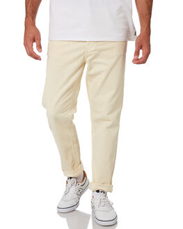 DUSTY WHITE MENS CLOTHING NUDIE JEANS CO PANTS - 113020DWHI