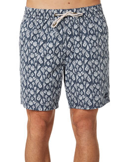 NAVY SHELL MENS CLOTHING BARNEY COOLS BOARDSHORTS - 807-CC1NVYSH
