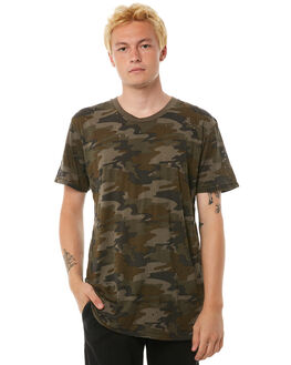 CAMO MENS CLOTHING THE PEOPLE VS TEES - AW18015CAMO
