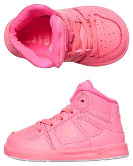 PINK CARNATION KIDS TODDLER GIRLS DC SHOES FOOTWEAR - ADOS700030PCA
