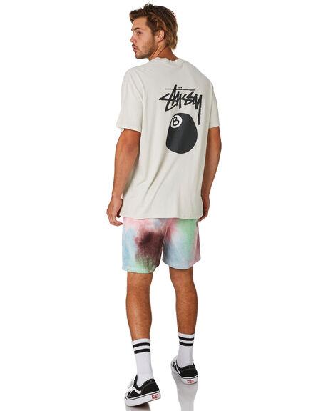 WHITE SAND MENS CLOTHING STUSSY TEES - ST093006WHTS