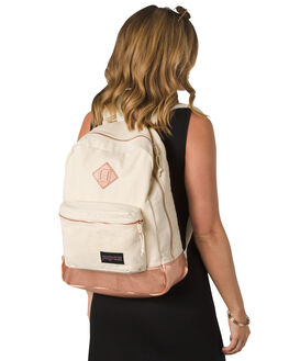 ROSE GOLD WOMENS ACCESSORIES JANSPORT BAGS + BACKPACKS - JS0A2SDR-JS3K6
