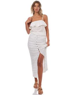 MARSHMELLOW WOMENS CLOTHING ROXY FASHION TOPS - ERJWT03166WBT0