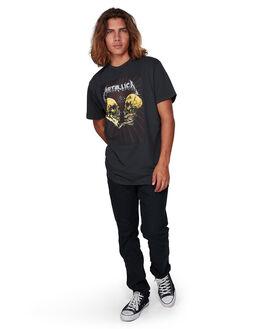 BLACK MENS CLOTHING BILLABONG TEES - BB-9592097-BLK