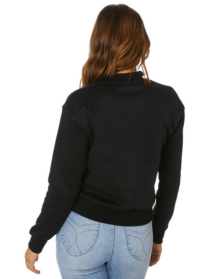 BLACK WOMENS CLOTHING RUSTY JUMPERS - FTL0733BLK