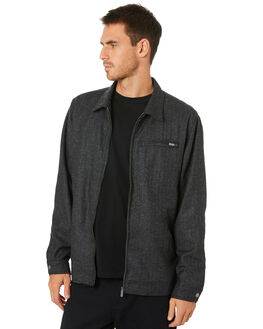 CHARCOAL MENS CLOTHING RPM JACKETS - 20WM17A2CHARC