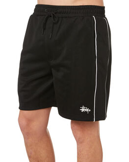 BLACK MENS CLOTHING STUSSY SHORTS - ST082613BLK