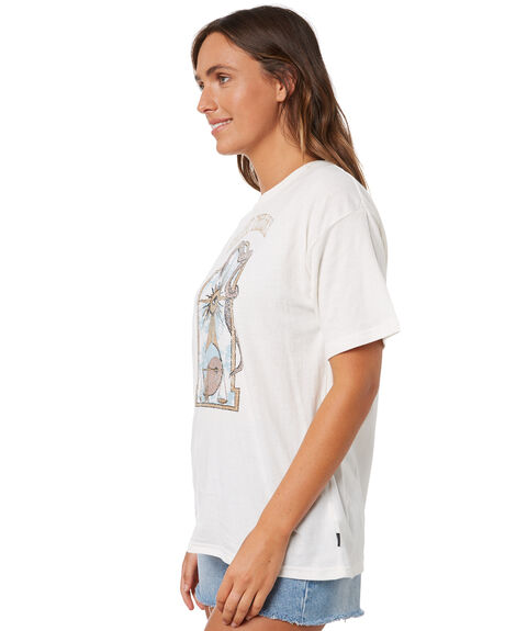 VINTAGE WHITE WOMENS CLOTHING SILENT THEORY TEES - 6073001VWHT