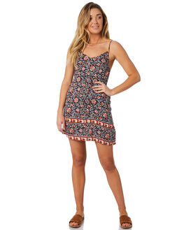 MIDNIGHT WOMENS CLOTHING THE HIDDEN WAY DRESSES - H8184449MIDNT