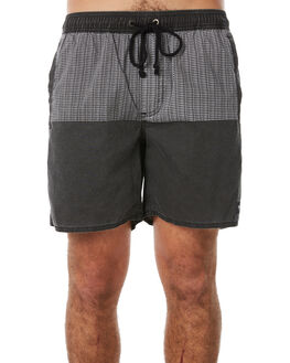 NOISE BLACK OUTLET MENS AFENDS BOARDSHORTS - M183350BLK