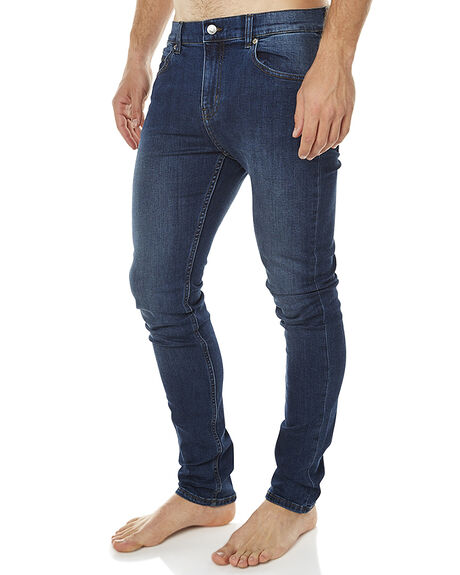 PURE BLUE MENS CLOTHING CHEAP MONDAY JEANS - 0356748PUBL
