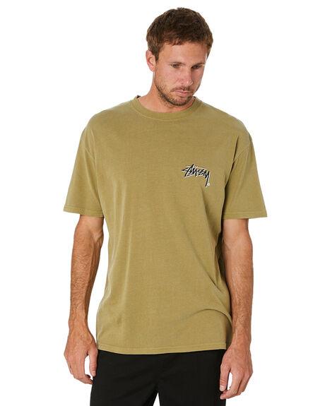 PIGMENT SAFARI MENS CLOTHING STUSSY TEES - ST016002PGSAF
