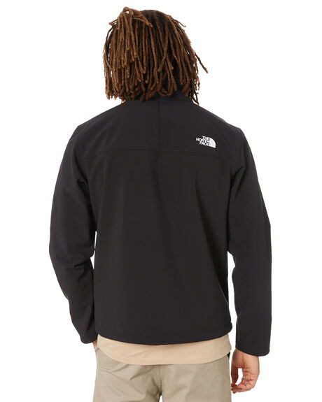 TNF BLACK MENS CLOTHING THE NORTH FACE JACKETS - NF0A4R2AJK3