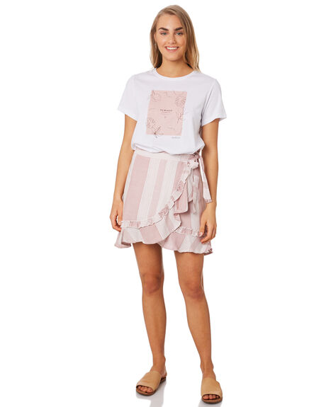 WHITE WOMENS CLOTHING ELWOOD TEES - W94112653