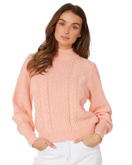 LIGHT PEACH WOMENS CLOTHING THE FIFTH LABEL KNITS + CARDIGANS - 40190502PEAC