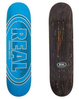 BLUE BOARDSPORTS SKATE REAL DECKS - CFADEBLUE