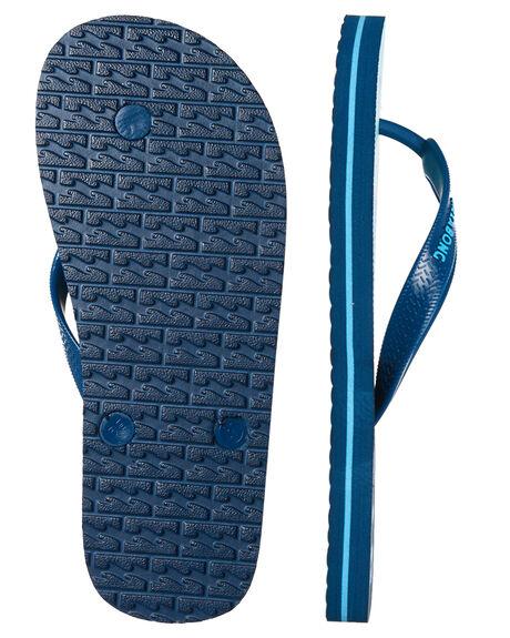 BLUE KIDS BOYS BILLABONG THONGS - 8685936BLU