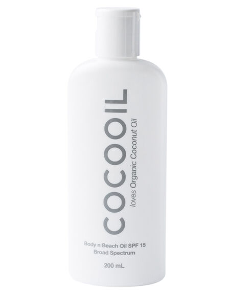 NATURAL HOME + BODY BODY COCOOIL SKINCARE - COCOBNBSPF15NAT