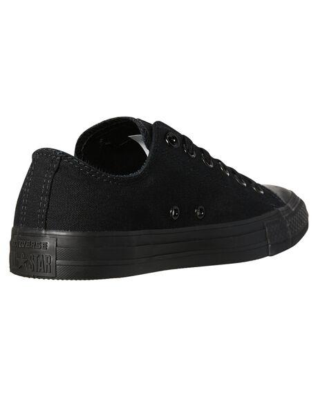 BLACK MONOCHROME WOMENS FOOTWEAR CONVERSE SNEAKERS - SS15039BLKMOW