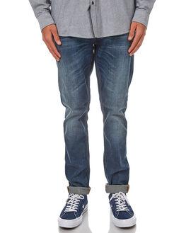 TRUE HUSTLE MENS CLOTHING NUDIE JEANS CO JEANS - 112500THUST