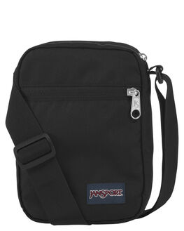 BLACK MENS ACCESSORIES JANSPORT BAGS + BACKPACKS - JS0A3C4G-JS008