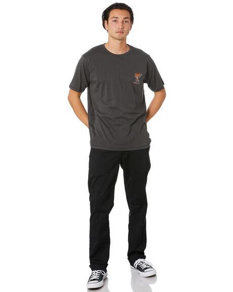PIGMENT BLACK MENS CLOTHING BARNEY COOLS TEES - 108-Q120IPGBLK