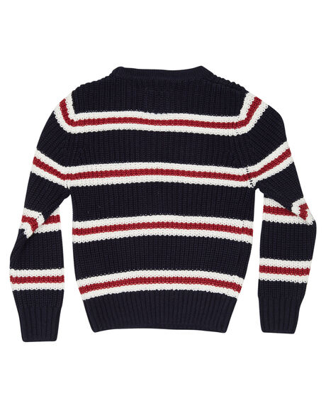 NAVY WHITE RED KIDS BOYS ROOKIE BY THE ACADEMY BRAND TOPS - R19W420NWR