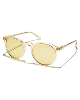 CHAMPAGNE CRYSTAL MENS ACCESSORIES RAEN SUNGLASSES - 100U161REM-S447CHAMP