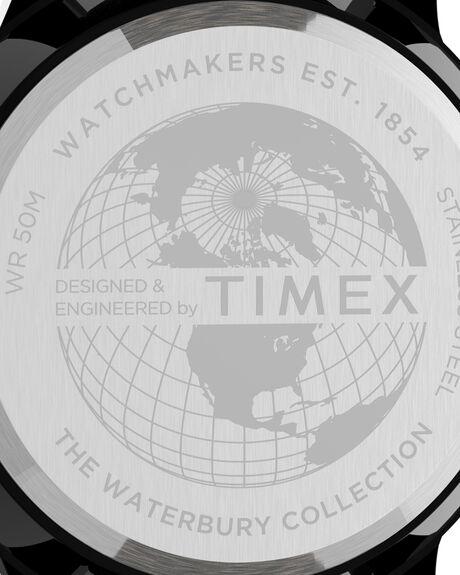 BLACK YELLOW MENS ACCESSORIES TIMEX WATCHES - TW2U04800BYEL