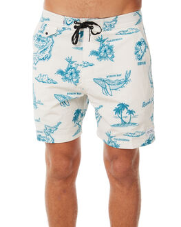 FADED BONE MENS CLOTHING BANKS BOARDSHORTS - BS0141FBN
