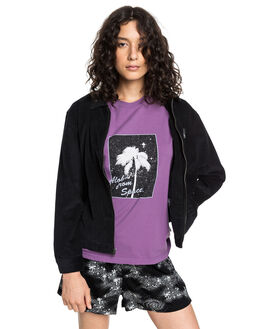 BLACK WOMENS CLOTHING QUIKSILVER JACKETS - EQWJK03009-KVJ0