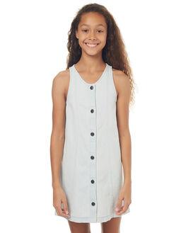 LIGHT BLEACH KIDS GIRLS BILLABONG DRESSES - 5572473LHB