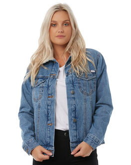 VINTAGE INDI WOMENS CLOTHING RVCA JACKETS - R283438VIND