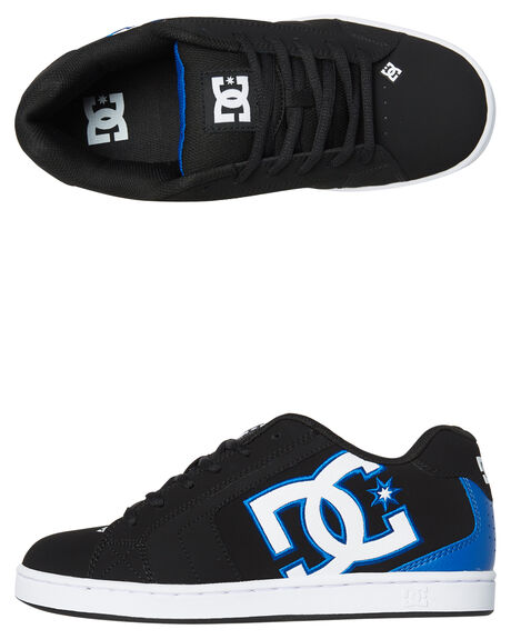 BLACK BLACK BLUE MENS FOOTWEAR DC SHOES SNEAKERS - 302361XKKB