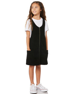BLACK KIDS GIRLS RUSTY DRESSES + PLAYSUITS - DRG0011BLK