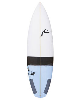 WHITE BLACK BOARDSPORTS SURF RUSTY SURFBOARDS - RUNEIL5WHBK