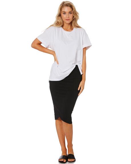 BLACK WOMENS CLOTHING BETTY BASICS SKIRTS - BB289T21BLK