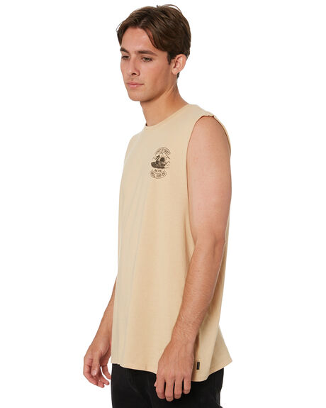 SAND BAY MENS CLOTHING SWELL SINGLETS - S5213272SNDBY
