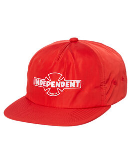 RED MENS ACCESSORIES INDEPENDENT HEADWEAR - IN-MCC8235RED