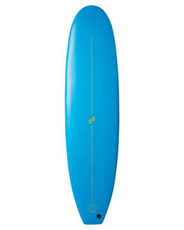 BLUE FLURO YELLOW BOARDSPORTS SURF FOAMIE SOFTBOARDS - F7BLUEBLUFY