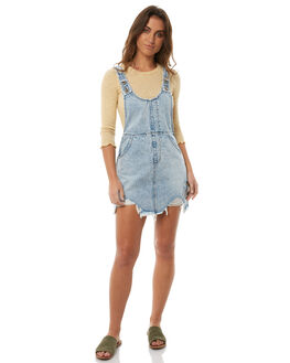 LTVIN BLU WOMENS CLOTHING MINKPINK PLAYSUITS + OVERALLS - MD1710952LTVIN