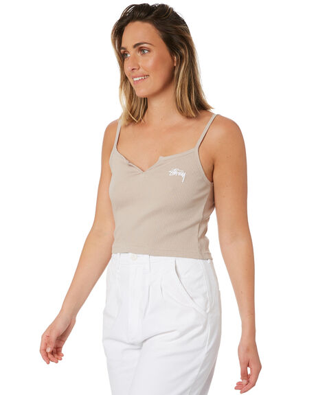 ATMOSPHERE WOMENS CLOTHING STUSSY SINGLETS - ST102205ATMO
