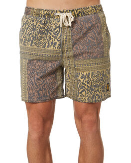 BROWN MENS CLOTHING INSIGHT BOARDSHORTS - 5000003645BRWN