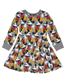 GREY KIDS GIRLS ROCK YOUR KID DRESSES + PLAYSUITS - TGD1959-MAGRY