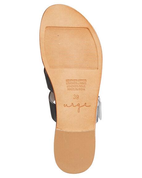SILVER LEATHER WOMENS FOOTWEAR URGE FASHION SANDALS - URG17060SIL