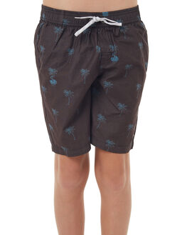 BLACK KIDS BOYS ST GOLIATH SHORTS - 2402020BLK